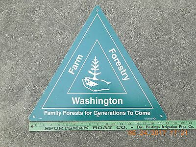 FARM  Forestry Washington Family Forests for generations to come SIGN free ship