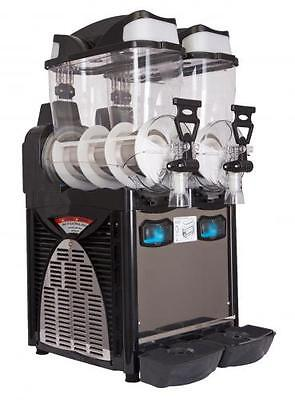 "Italian Double Bowl Slush Drinks Machine""SALE ,SALE"" Free Stock"