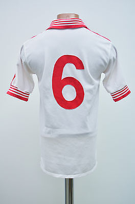 Admiral Vintage England Style 1980's Away Football Shirt Jersey #6