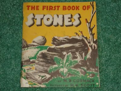 The First Book of Stones by Maribelle Cormack and M.K. Scott - Vintage
