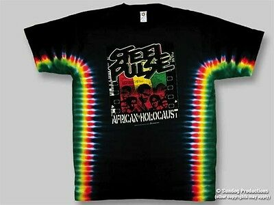 Steel Pulse size XL African Holocaust tie dye t-shirt, new never worn, Free Ship