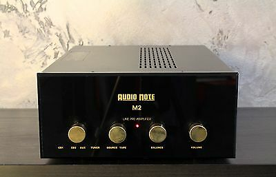 AUDIO NOTE M2 Hi-end Tube Line Pre-Amplifier