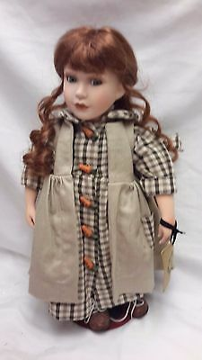 """Boyds Collection - Yesterday's Child Porcelain Doll 15""""T - JULLIA 1999"""
