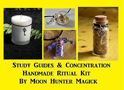 Study Guides Concentration Spell Combo Kit Focus Spell Kit Pass the Test spell