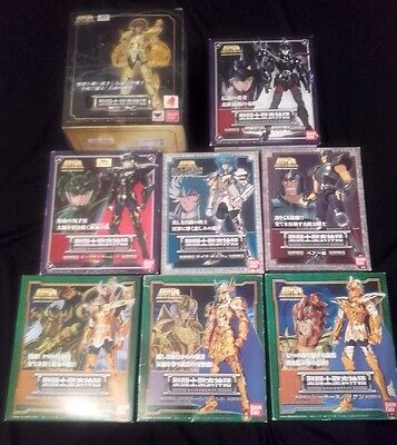 Rare Lot 8 figurines Saint Seiya Myth Cloth BANDAI Ex Gold Or Asgard Bronze