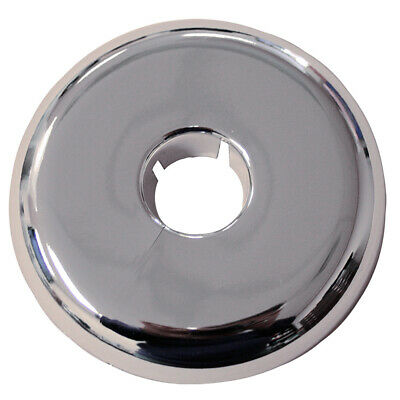 "Pack 12, Chrome Plated Plastic 4"" IPS 6.781 Flange OD Flexible Floor and Ceiling"