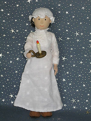 """Madeline 8"""" dolls Eden/LearningCurve MISS CLAVEL WHITE EYELET NIGHTGOWN Clothes"""