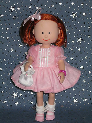 """Madeline 8"""" doll Eden/LearningCurve PINK PARTY TIME DRESS UP Clothes Set - RARE"""