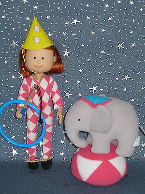 """Madeline 8"""" doll Eden/LearningCurve A DAY IN THE CIRCUS Clothes Set"""