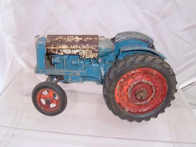 Chad Valley Fordson Power Major Tractor 17 Cms Long 10 Wide To Restore