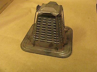 Antique Toaster Stove Top Bread Toaster /  Tin Toast Pyramid