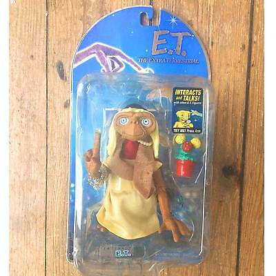 ET Interactive Figure with Plant Talks and Lights Up Working Carded Vintage