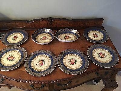 england crescent china george jones and sons