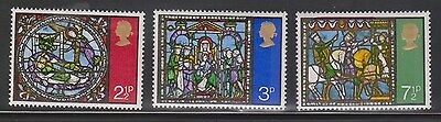 Great Britain Scott # 661-3 Mint Never Hinged - Christmas 1971 The 3 Kings