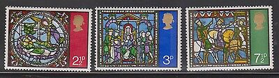 Great Britain Scott # 661-3 Mint Never Hinged - Christmas 1971 The 3 Kings #2
