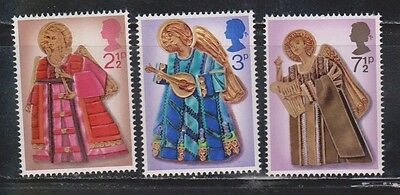 Great Britain Scott # 680-2 Mint Never Hinged  - Christmas Angles 1972
