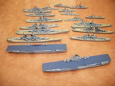 DIECAST AIRCRAFT CARRIERS (2 X 85MM) + SHIPS 35 - 85mm