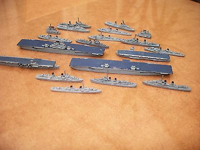 DIECAST AIRCRAFT CARIERS (50 - 85mm)  + 15 SHIPS
