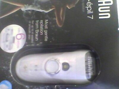 Braun Silk-Epil 7561 Wet & Dry Cordless Womens Hair Removal Epilator NEW SEALED