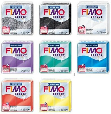 FIMO EFFECT Modelling Clay  x 5 blocks