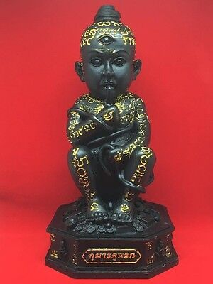 """5.5"""" inch Statue Kumanthong Udomchok Magic Luck For Store Blessed By Lp Khamsang"""