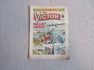 THE VICTOR COMIC No 46 - JAN 6TH 1962 - THE LAST PATROL