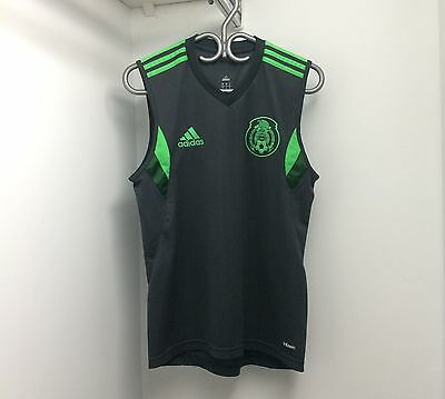 Adidas Mexico 2014 Sleeveless Training Jersey Small