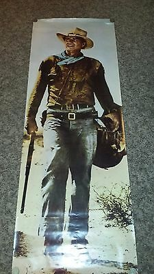 life size poster of John Wayne as Hondo / and 13 inch standee