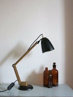 Vintage Black Conran Maclamp 20th Century Desk Lamp