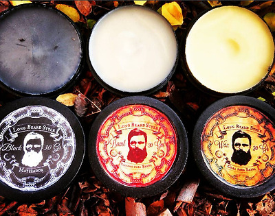 Long Beard Style - Facial Hair Beard Growth Mustache Care: Balm, Wax, Dye Tint