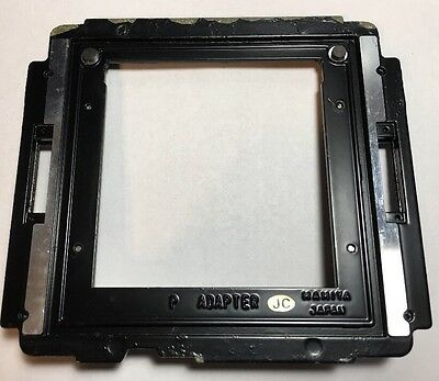 Mamiya RB67 Genuine P Adapter For Polaroid Film Back