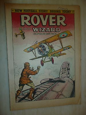 Comic- THE ROVER and WIZARD - 27th April 1968