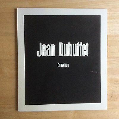 *JEAN DUBUFFET* DRAWINGS 1968 NEW YORK MOMA exhibition catalog