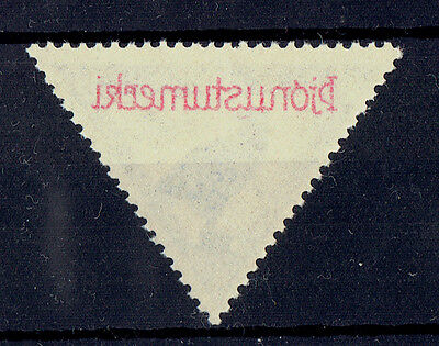 Iceland 1930 Air Mail Parliament Official MNH Variety/Error Overprint on back