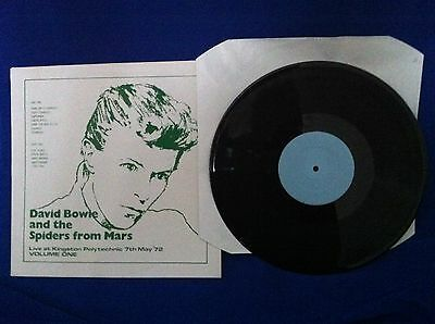 David Bowie & The Spiders From Mars - Live At Kingston Polytechnic - Rare