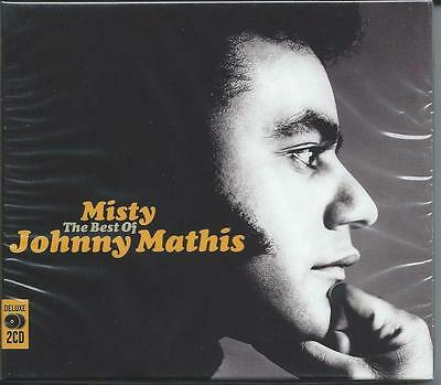 Johnny Mathis - Misty - The Best Of / Greatest Hits 2CD NEW/SEALED