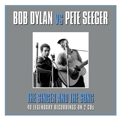 Bob Dylan Vs. Pete Seeger - The Singer And The Song 2CD NEW/SEALED