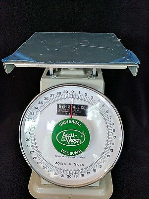 Accu-Weigh M-40 40lbs x 2ozs Yamato Mechanical Dial Scale