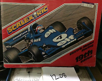 VINTAGE SCALEXTRIC CATALOGUE 19th Edition 1978