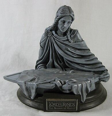 Lord of The Rings Shards of Narsil Statute 2003 New Line J R R Tolkien NO SWORD