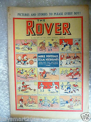 THE ROVER Comic, No.1318, 30th Sept 1950