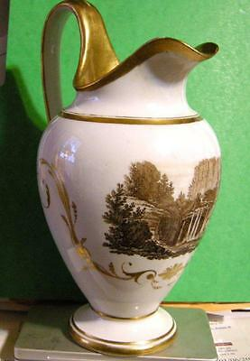 Fab Early 19th Century Meissen Jug, Beautifully Decorated