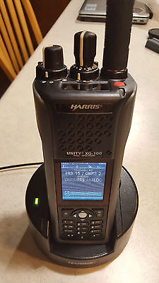 Harris XG-100P Two Way Radio 136-865MHz P25 Trunking & Phase 2