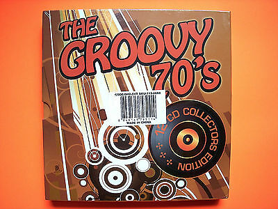 ⭐️ NEW Sealed THE GROOVY 70's 12 CD Collectors Edition Box Set Hits Various ⭐️