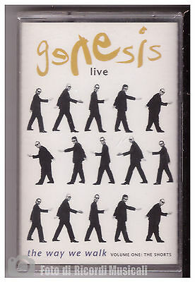 Genesis - Live The Way We Walk **mc Nuova Sigillata** 077778656548