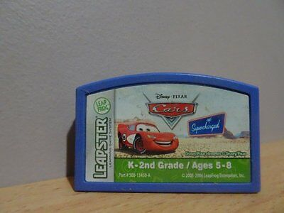 Disney Pixar Cars..Leapster.. Leap Frog Cartridge