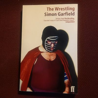 The Wrestling book by Simon Garfield Softcover 230 pages 1996