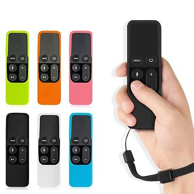 New Remote Controller Silicone Game Sleeve Cover Case Skin for Apple TV4th~