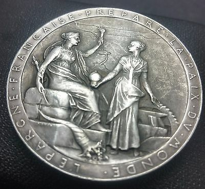 France, Egypt, 1869 Opening of the Suez Canal Silver medal by Oscar Roty