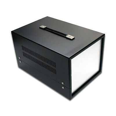 """SH1287 12"""" Metal Instrument Enclosure Chassis case for DIY"""